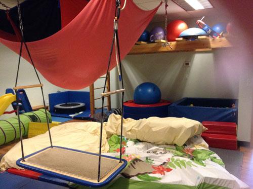 Sound Children's Therapy gym equipment