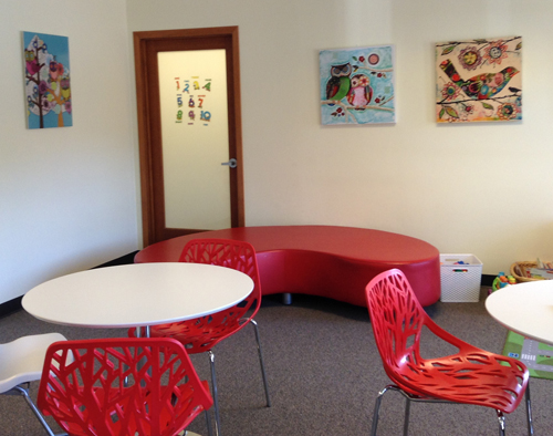 Sound Children's Therapy waiting room
